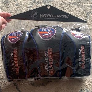 NY Islanders Long Neck Golf Heads, Pack of 3. NEW!